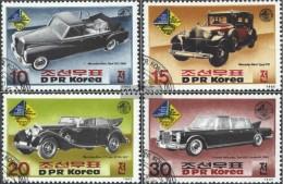 Nord-Korea 2697-2700 (completa Edizione) Usato 1985 Stamp Fair Southwest '85 - Corea Del Nord