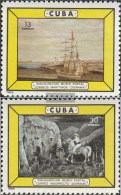Kuba 994-995 (completa Edizione) MNH 1965 Apertura Postal Museum - Kuba