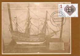 "D24602 CARTE MAXIMUM CARD FD 2014 NETHERLANDS - VOC SHIP ""DE LIEFDE"" - JOURNEY 1598 TO JAPAN CP ORIGINAL - Zonder Classificatie"