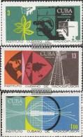 Kuba 1480-1482 (completa Edizione) MNH 1969 Cuban Broadcasting - Nuevos