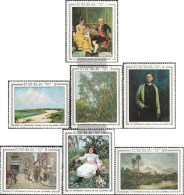 Kuba 1447-1453 (completa Edizione) MNH 1968 Dipinti - Nuevos