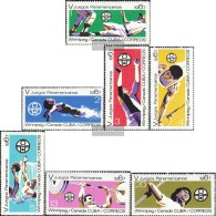 Kuba 1308-1314 (kompl.Ausg.) Postfrisch 1967 Panamerikanische Spiele - Kuba