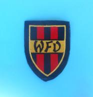 WFV - Württembergischer Fussballverband ... Germany Football Patch * Fussball Flicken Soccer Deutschland Württemberg - Apparel, Souvenirs & Other