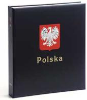 DAVO 7441 Luxus Binder Briefmarkenalbum Polen I - Formato Grande, Sfondo Nero