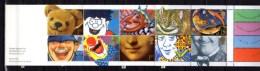 Carnet De Voeux, Smile, Sourire, Chat, Cinema, Circus Clown Joconde  C 1445, Cote 50 € - Booklets