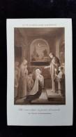 Chromo, Image Religieuse, Vie De Marie Apres L'Ascension, Communion - Images Religieuses