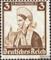 Deutsches Reich 588 Postfrisch 1935 Volkstrachten - Deutschland