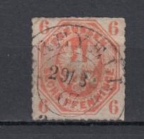 """Preussen 6 Pf Adler Achteck 1861 - Michel 15  - Schöner, Zentrischer 2 Kreis """"(B)reyell"""" 29/3 67 - Prusse"""