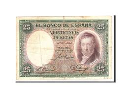 Espagne, 25 Pesetas, 1931, KM:81, 1931-04-25, TB - [ 2] 1931-1936 : Republiek