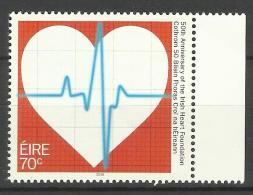 IRELAND 2016  ANNIVERSARY OF HEART FOUNDATION  MNH - 1949-... Republiek Ierland