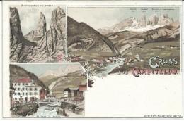 GIL157 - GRUSS AUS CAMPITELLO -  FORMATO PICCOLO - NON VIAGGIATA - Other Cities