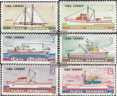 Kuba 998-1003 (completa Edizione) MNH 1965 Navi - Nuevos