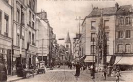 ROUEN PLACE DE LA CROIX DE PIERRE ET RUE ST VIVIEN - Rouen