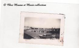 MARSEILLE - LE VIEUX PORT - BOUCHES DU RHONE - PHOTO 8 X 5.5 CM - Bateaux
