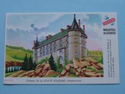 Biscottes Allégées Grégoire Château De La VOULTE POLIGNAC ( Haute-Loire ) ( Details Zie Foto ) ! - Sucreries & Gâteaux