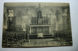 Machelen - Flandre - Pensionnat - Chapelle - Zulte
