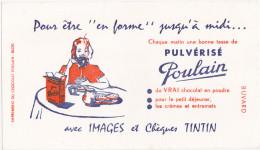 Buvard CHOCOLAT POULAIN / PULVERISE POULAIN - Chocolat
