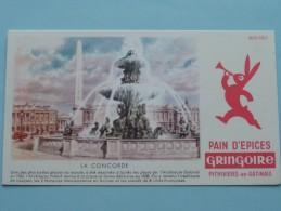 """Pain D'épices GRINGOIRE """" La CONCORDE """" Pithiviers-en-Gatinais ( Details Zie Foto ) ! - Alimentaire"""