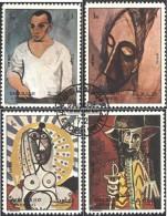 Sharjah 1316-1319 (completa Edizione) Usato 1972 Dipinti Di Picasso - Sharjah