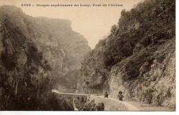 CPA - GORGES SUPERIEURES DU LOUP - PONT DE L'ABIME - 3225 - GILETTA - T. B. E. - - Frankreich