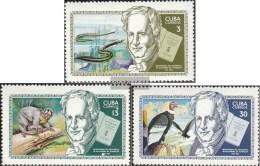 Kuba 1502-1504 (completa Edizione) MNH 1969 Alexander Di Humboldt - Nuevos