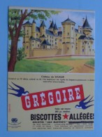 Biscottes Allégées Grégoire - Château De SAUMUR ( Details Zie Foto ) ! - Sucreries & Gâteaux