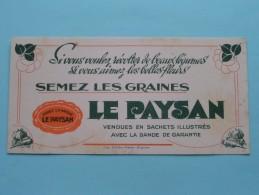 Semez Les Graines LE PAYSAN ( Imp. Rullière Avignon ) ( Details Zie Foto ) ! - Alimentaire