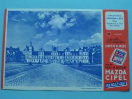 Mulière Blanche Avec Les Piles MAZDA CIPEL Exigez-Les / Palais Seine-et-Marne FONTAINEBLEAU ( Details Zie Foto ) ! - Accumulators