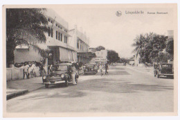 Cpsm Léopoldville  Avenue Beernaert - Congo Belga - Altri
