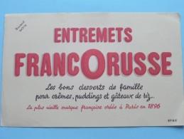 Entremets FRANCORUSSE Les Bons Desserts De Famille Pour Crêmes, Puddings ...... ( EFGE ) ( Details Zie Foto ) ! - Alimentaire