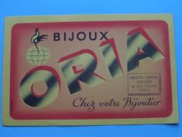 Bijoux ORIA Chez Votre Bijoitier ( PICARD - TROYES ) ( R. Joigneaux ) ( Details Zie Foto ) ! - Buvards, Protège-cahiers Illustrés