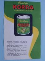 Peinture NORDA Garantie A L'huile De Lin Pure ( Details Zie Foto ) ! - Paints