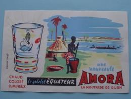 Une Nouveauté AMORA La Moutarde De Dijon ( Details Zie Foto ) ! - Moutardes