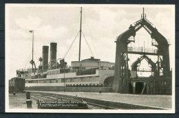 Germany Sassnitz - Trelleborg 'Deutschland' Eisenbahn Railway Ship RP Postcard - Ferries