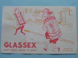 GLASSEX Pour Vitres, Glaces Et émail ( Ets Reckitt / Choisy-le-Roi ) ( Details Zie Foto ) ! - Wassen En Poetsen