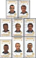 Ajman 1237A-1244A (completa Edizione) Usato 1971 Olympics. Calcio 1972 - Emiratos Árabes Unidos