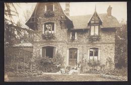 CPA 91 Orsay Carte Photo Une Villa - Orsay