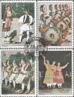 Sharjah 1312-1315 (completa Edizione) Usato 1972 Folklore - Sharjah