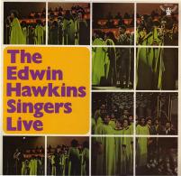 * LP *  EDWIN HAWKINS SINGERS LIVE (Holland 1970 EX-!!!) - Gospel En Religie