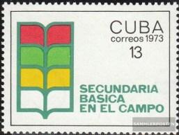 Kuba 1878 (completa Edizione) MNH 1973 Miglioramento Istruzione - Cuba