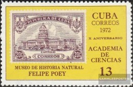Kuba 1750 (completa Edizione) MNH 1972 Academy Il Scienza - Nuevos