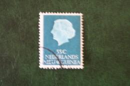 55 Ct Koningin Juliana NVPH 34 1954 Gestempeld Used NIEUW GUINEA NIEDERLANDISCH NEUGUINEA NETHERLANDS NEW GUINEA - Netherlands New Guinea