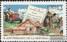 Kuba 1463 (completa Edizione) MNH 1969 Agrarreform - Kuba
