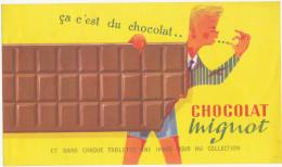 Buvard Chocolat Mignot - Chocolat
