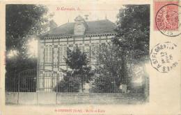 10 - SAINT GERMAIN - Mairie - école - Francia