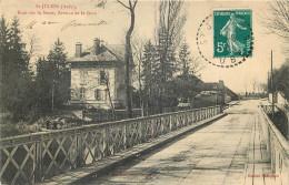 10 - SAINT JULIEN - Pont Sur La Seine - Avenue De La Gare - Francia