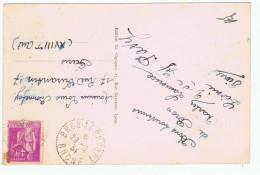 France:69.Rhone.Bron.Cachet Bron Aeroport 1934 - Airmail