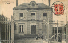 10 - SAINT JULIEN - Mairie - Francia