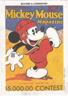 Buvard Walt Disney Productions / Mickey Mouse Magazine November 1935 - Buvards, Protège-cahiers Illustrés