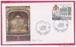 FDC Italia 1987 Teatro San Carlo Napoli - F.D.C.